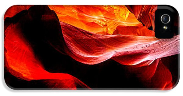 Pillar iPhone 5 Cases - Antelope Canyon Rock Wave iPhone 5 Case by Az Jackson