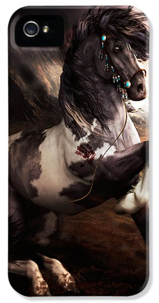 Apache Blue IPhone 5 / 5s Case by Shanina Conway