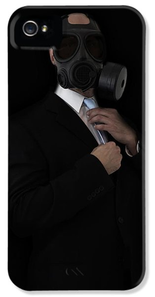 Suit iPhone 5 Cases - Apocalyptic Style iPhone 5 Case by Nicklas Gustafsson