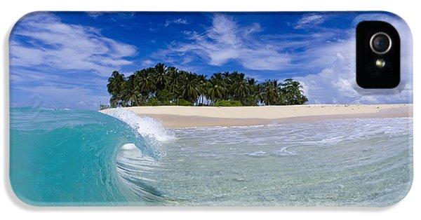 Indian Ocean iPhone 5 Cases - Aqua Peel iPhone 5 Case by Sean Davey
