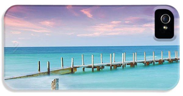 Indian Ocean iPhone 5 Cases - Aqua Waters iPhone 5 Case by Az Jackson
