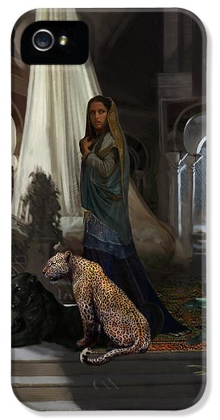 Arabian iPhone 5 Cases - Arabian Princess iPhone 5 Case by Matt Kedzierski