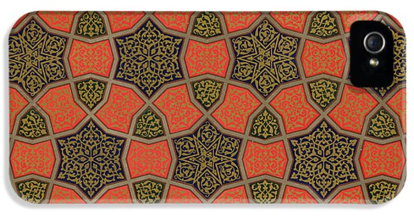 Arabic iPhone 5 Cases - Arabic decorative design iPhone 5 Case by Emile Prisse dAvennes
