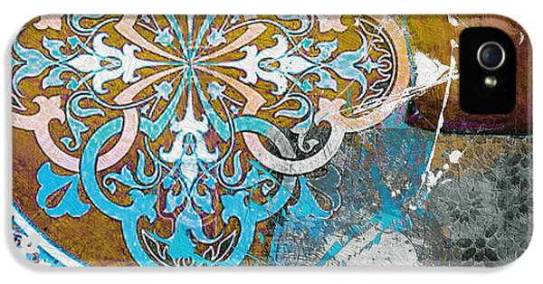 Arabic iPhone 5 Cases - Arabic Motif 01C iPhone 5 Case by Corporate Art Task Force