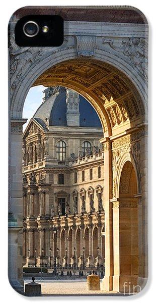 Arc iPhone 5 Cases - Arc de Triomphe du Carrousel iPhone 5 Case by Brian Jannsen