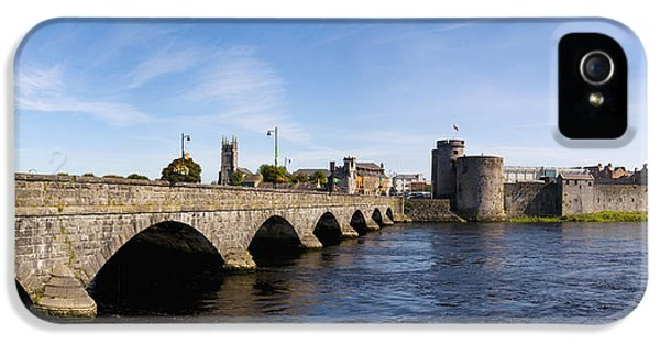 Social History iPhone 5 Cases - Arch Bridge Across A River, Thomond iPhone 5 Case by Panoramic Images