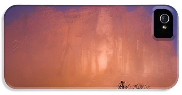 Sillouette iPhone 5 Cases - Arches Morning Fog iPhone 5 Case by Darren  White