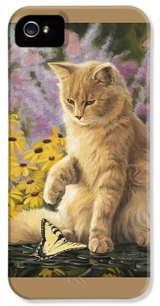 Swallowtail iPhone 5 Cases - Archibald And Friend iPhone 5 Case by Lucie Bilodeau