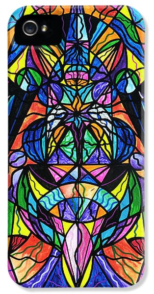 Grid iPhone 5 Cases - Arcturian Awakening Grid iPhone 5 Case by Teal Eye  Print Store