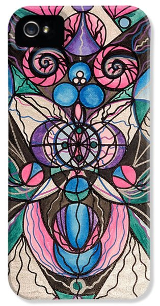 Spiritual iPhone 5 Cases - Arcturian Healing Lattice  iPhone 5 Case by Teal Eye  Print Store