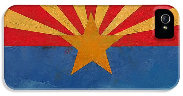 Independence Day iPhone 5 Cases - Arizona iPhone 5 Case by Michael Creese