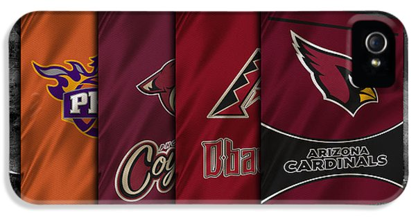 Arizona Sports Teams IPhone 5 / 5s Case by Joe Hamilton