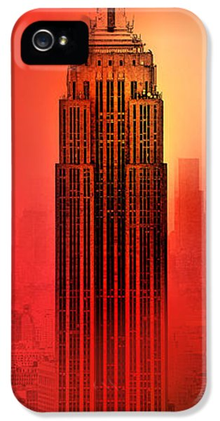 Midtown iPhone 5 Cases - Armageddon iPhone 5 Case by Az Jackson