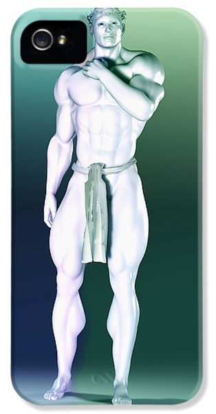 Cyborg iPhone 5 Cases - Artificial God freezers iPhone 5 Case by Joaquin Abella