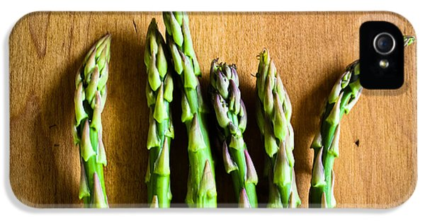 Prepper iPhone 5 Cases - Six Asparagus Tips iPhone 5 Case by Colleen Kammerer