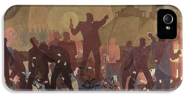 Aspects Of Negro Life IPhone 5 / 5s Case by New York Public Library/aaron Douglas