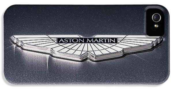 Badge iPhone 5 Cases - Aston Martin Badge iPhone 5 Case by Douglas Pittman