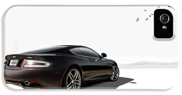 High Key iPhone 5 Cases - Aston Martin Virage iPhone 5 Case by Douglas Pittman