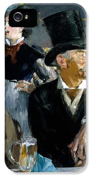 At The Cafe Concert IPhone 5 / 5s Case by Edouard Manet
