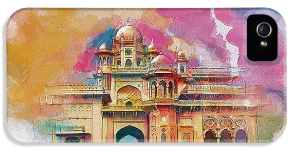 Pakistan iPhone 5 Cases - Atchison College iPhone 5 Case by Catf