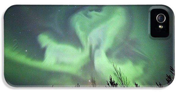 Discharging iPhone 5 Cases - Aurora Borealis iPhone 5 Case by Dr Juerg Alean