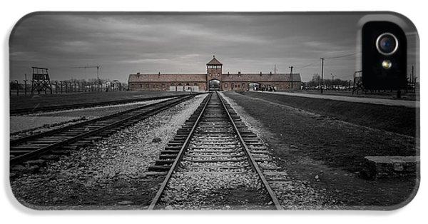 Auschwitz-birkenau IPhone 5 / 5s Case by Chris Fletcher