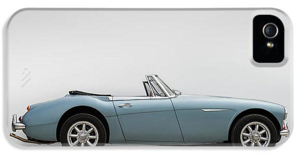 Roadsters iPhone 5 Cases - Austin Healey 3000 MkIII iPhone 5 Case by Douglas Pittman