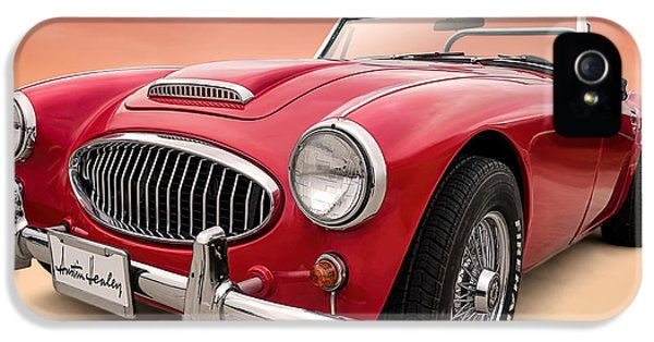 Roadsters iPhone 5 Cases - Austin Healey iPhone 5 Case by Douglas Pittman