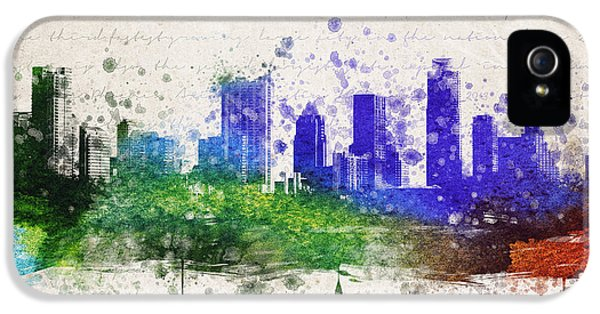 Austin In Color IPhone 5 / 5s Case by Aged Pixel