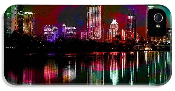 Austin Texas Skyline IPhone 5 / 5s Case by Marvin Blaine