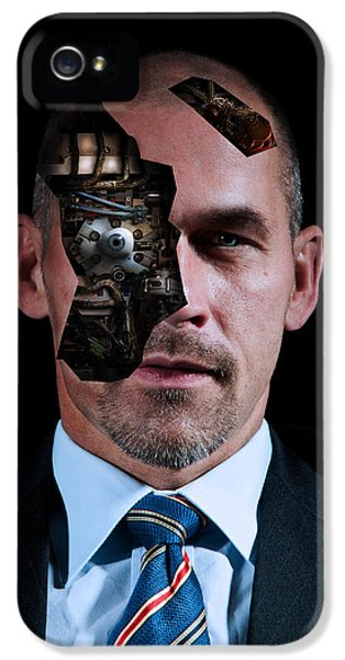 Cyborg iPhone 5 Cases - Automated banking  iPhone 5 Case by Nathan Wright