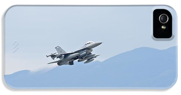 Aviano F16 IPhone 5 / 5s Case by Staff Sgt Jessica Hines