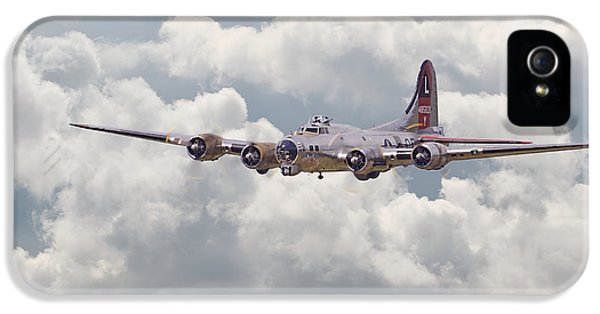 Usaf iPhone 5 Cases - B17- Yankee Lady iPhone 5 Case by Pat Speirs