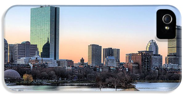Back Bay Sunrise IPhone 5 / 5s Case by JC Findley