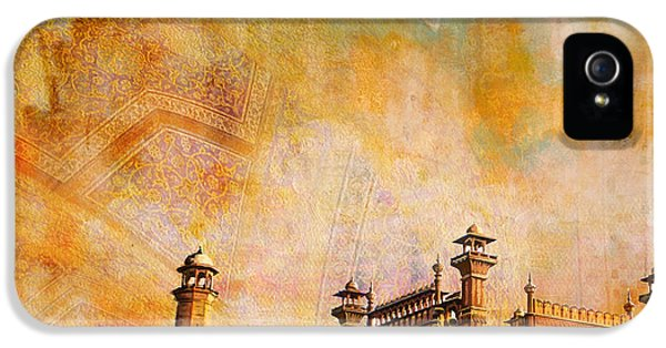 Pakistan iPhone 5 Cases - Badshahi Mosque iPhone 5 Case by Catf