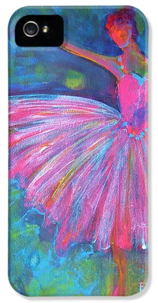 Dance iPhone 5 Cases - Ballet Bliss iPhone 5 Case by Deb Magelssen