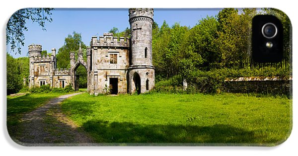 Social History iPhone 5 Cases - Ballysaggartmore Towers, Lismore iPhone 5 Case by Panoramic Images