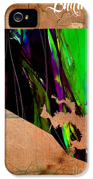 Baltimore Map Watercolor IPhone 5 / 5s Case by Marvin Blaine