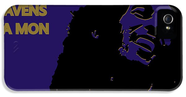 Baltimore Ravens Ya Mon IPhone 5 / 5s Case by Joe Hamilton