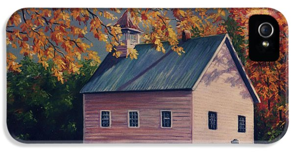 Baptism iPhone 5 Cases - Baptist Church  Cades Cove iPhone 5 Case by John Clark