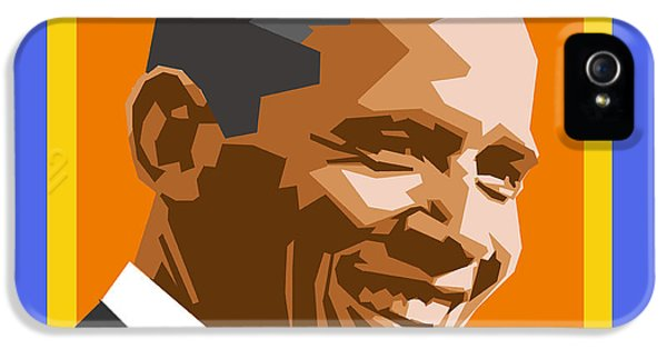 Barack IPhone 5 / 5s Case by Douglas Simonson