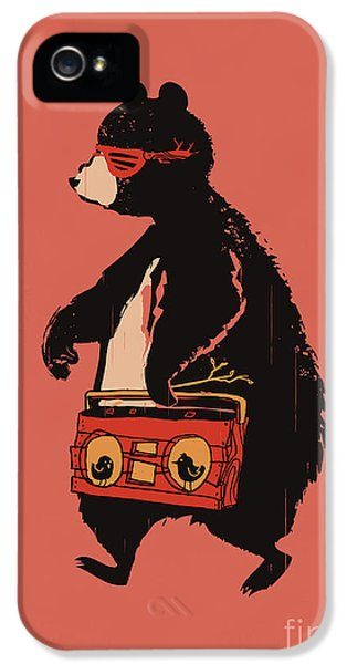 Cartooning iPhone 5 Cases - Bare necessity iPhone 5 Case by Budi Satria Kwan