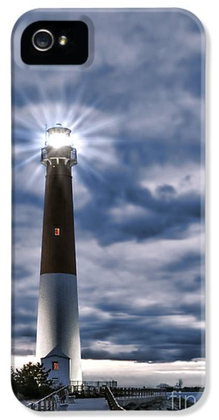Dramatic Skies iPhone 5 Cases - Barnegat Magic iPhone 5 Case by Olivier Le Queinec