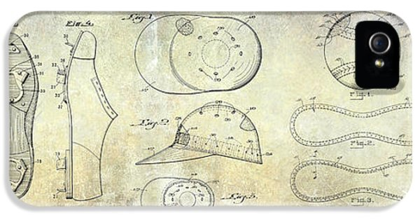 Baseball Patent Panoramic IPhone 5 / 5s Case by Jon Neidert