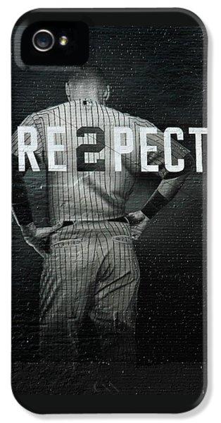 Sport iPhone 5 Cases - Baseball iPhone 5 Case by Jewels Blake Hamrick