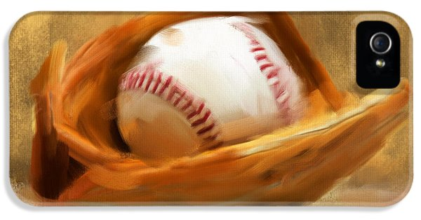 American iPhone 5 Cases - Baseball V iPhone 5 Case by Lourry Legarde