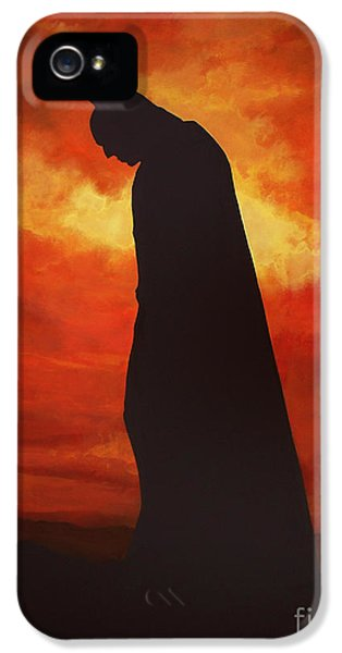 Actor iPhone 5 Cases - Batman  iPhone 5 Case by Paul  Meijering