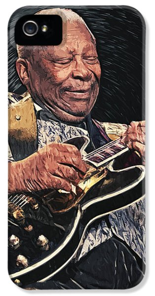 B.b. King II IPhone 5 / 5s Case by Taylan Apukovska