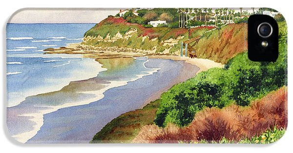 Foliage iPhone 5 Cases - Beach at Swamis Encinitas iPhone 5 Case by Mary Helmreich