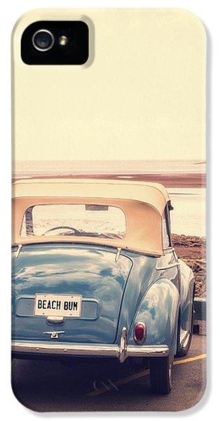 Automobile iPhone 5 Cases - Beach Bum iPhone 5 Case by Edward Fielding